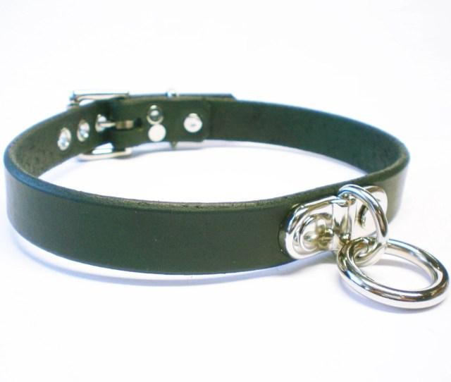Leather Bdsm Collar Bondage Collar Lockable Slave Collar Sub Collar Leather Locking Choker Plated Bondage Ring