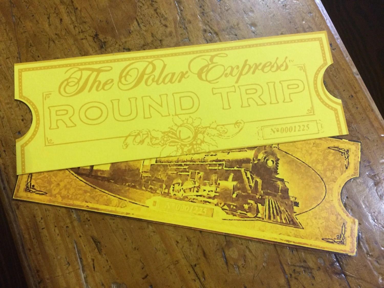 The Best Polar Express Printable Tickets