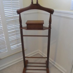Mens Valet Chair Used Broda Mid Century Butler Furniture Etsy Image 0