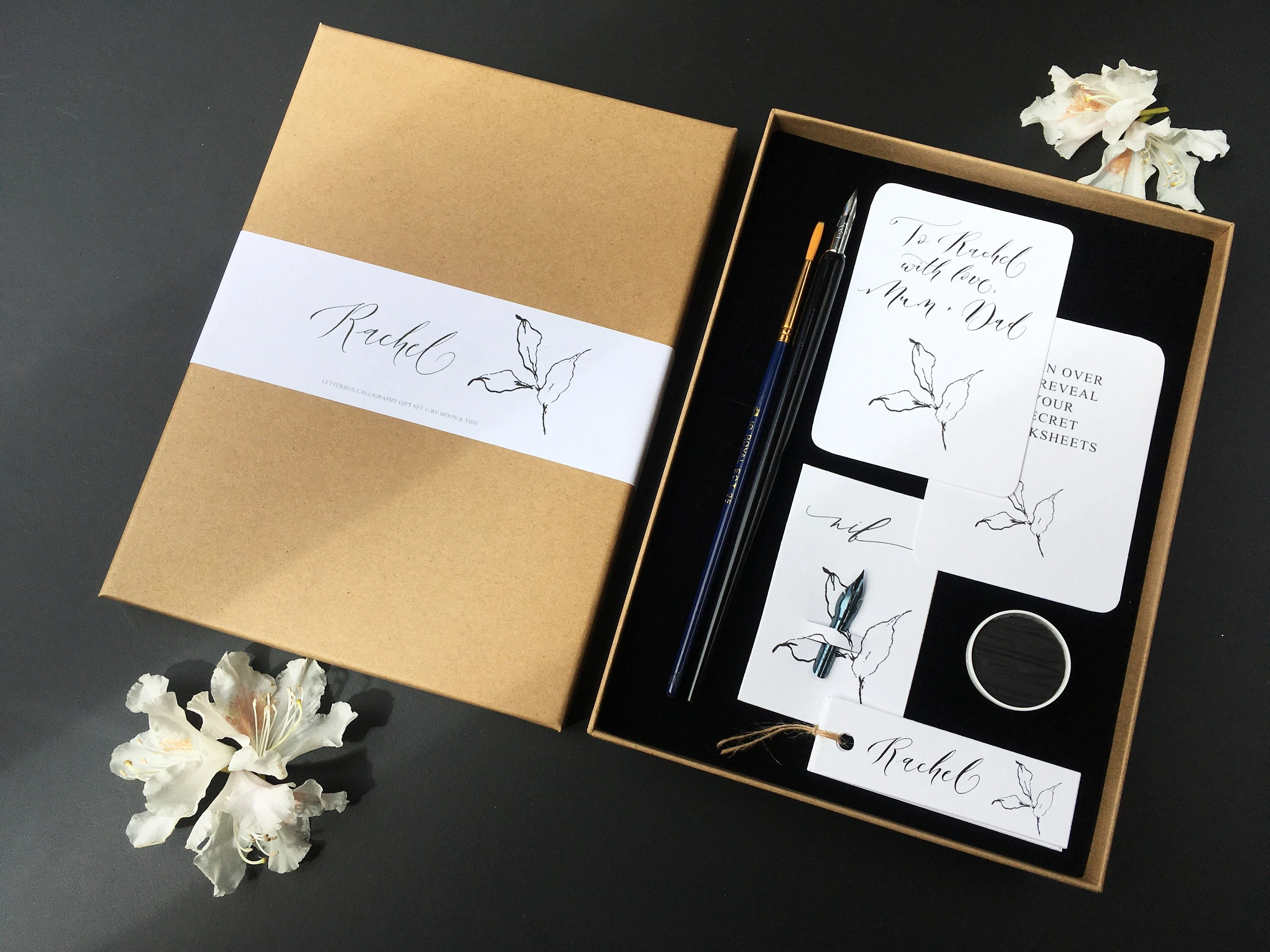 Letterbox Calligraphy T Set Modern Calligraphy Set