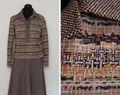 1970s Patterned Knit 3 Pi...