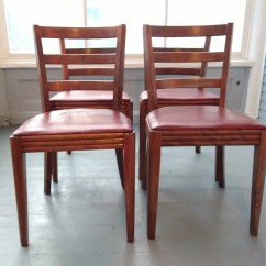 Vintage Bentwood Chairs Costco Tommy Bahama Beach Chair Four Vinyl Seats Wood Kitchen Etsy Image 0