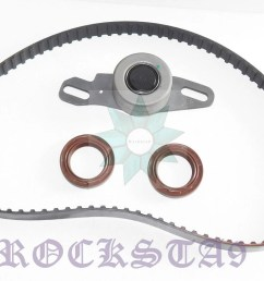 suzuki timing belt tensioner pulley bearing oil seal set sj410 f10a sierra carry [ 1600 x 981 Pixel ]