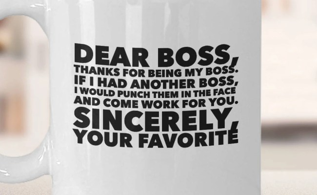 Funny Boss Mug Gift For Boss Coffee Cup National Boss Etsy