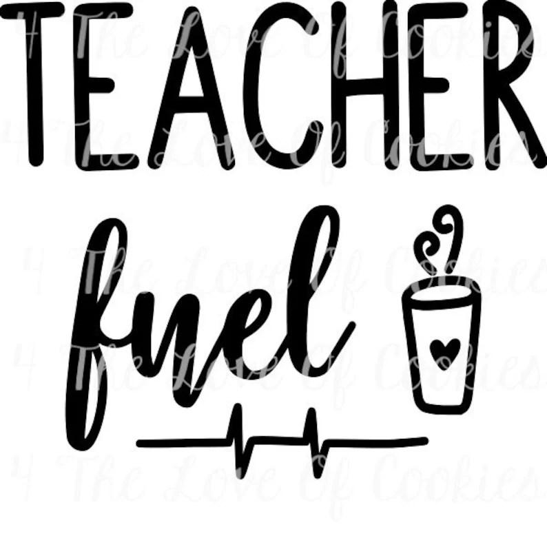 Teacher fuel Silk Screen Stencil stencil cookie stencils