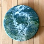 Lazy Susan Turntable Acrylic Pour Kitchen Decor Dining Etsy