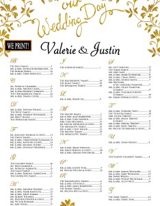 Image also wedding seating chart poster printed alphabetical order etsy rh