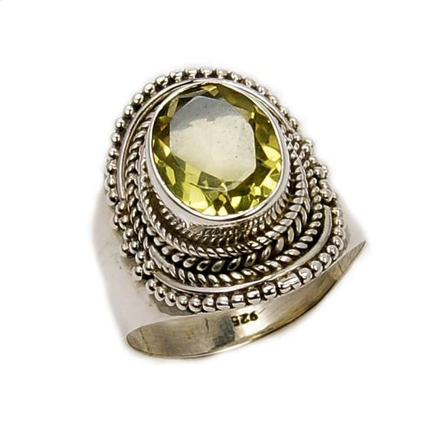 Sunshine' Citrine Ring Jewelry Money Gemstone Success