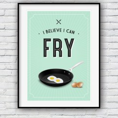 Kitchen Wall Art Decor Non Slip Shoes Etsy Chef Gift Housewarming Prints Funny Quote Cooking Poster