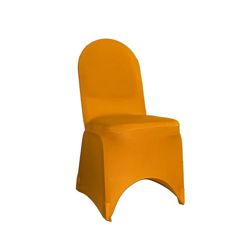 yellow chair covers bean bag chairs for boats etsy gold spandex banquet cover stretch wedding
