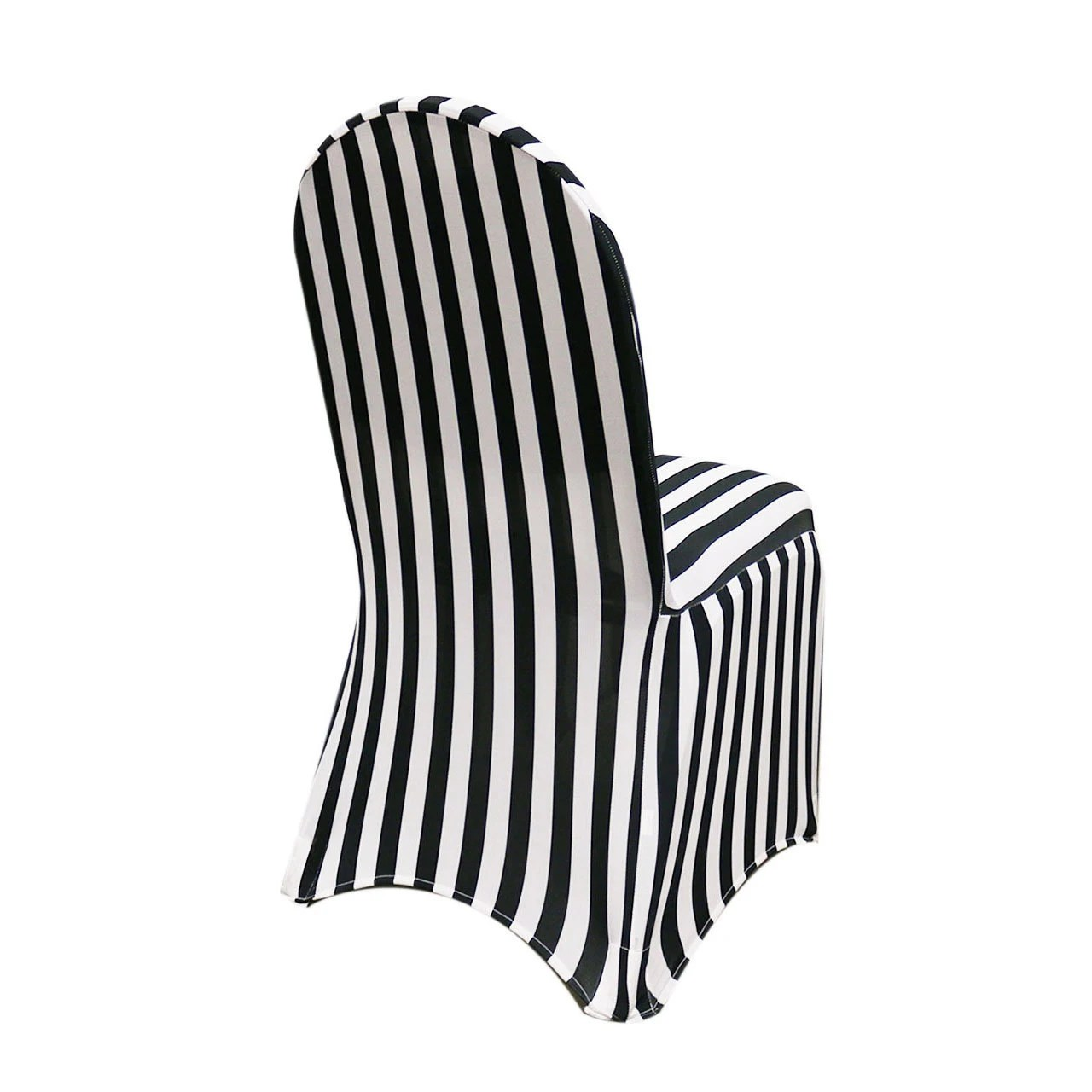 spandex banquet chair covers for sale fabric accent chairs black and white striped cover stretch etsy image 0