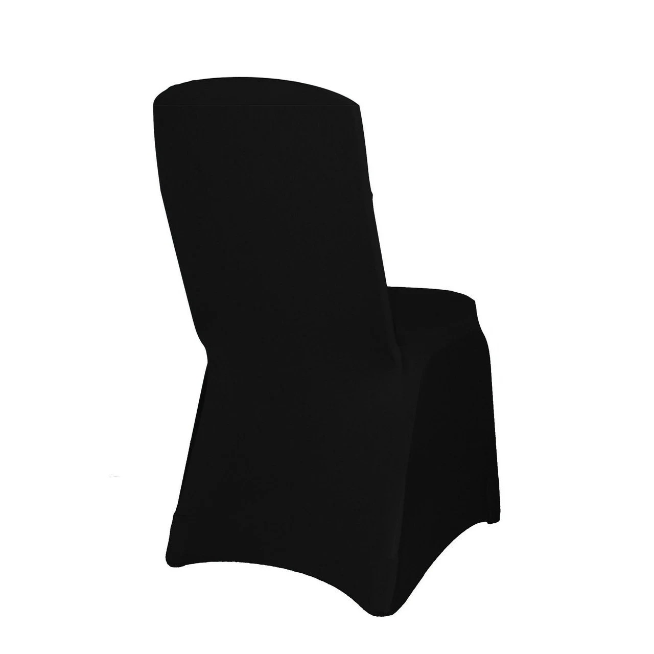 banquet chair covers wholesale white rolling black square top spandex cover etsy image 0