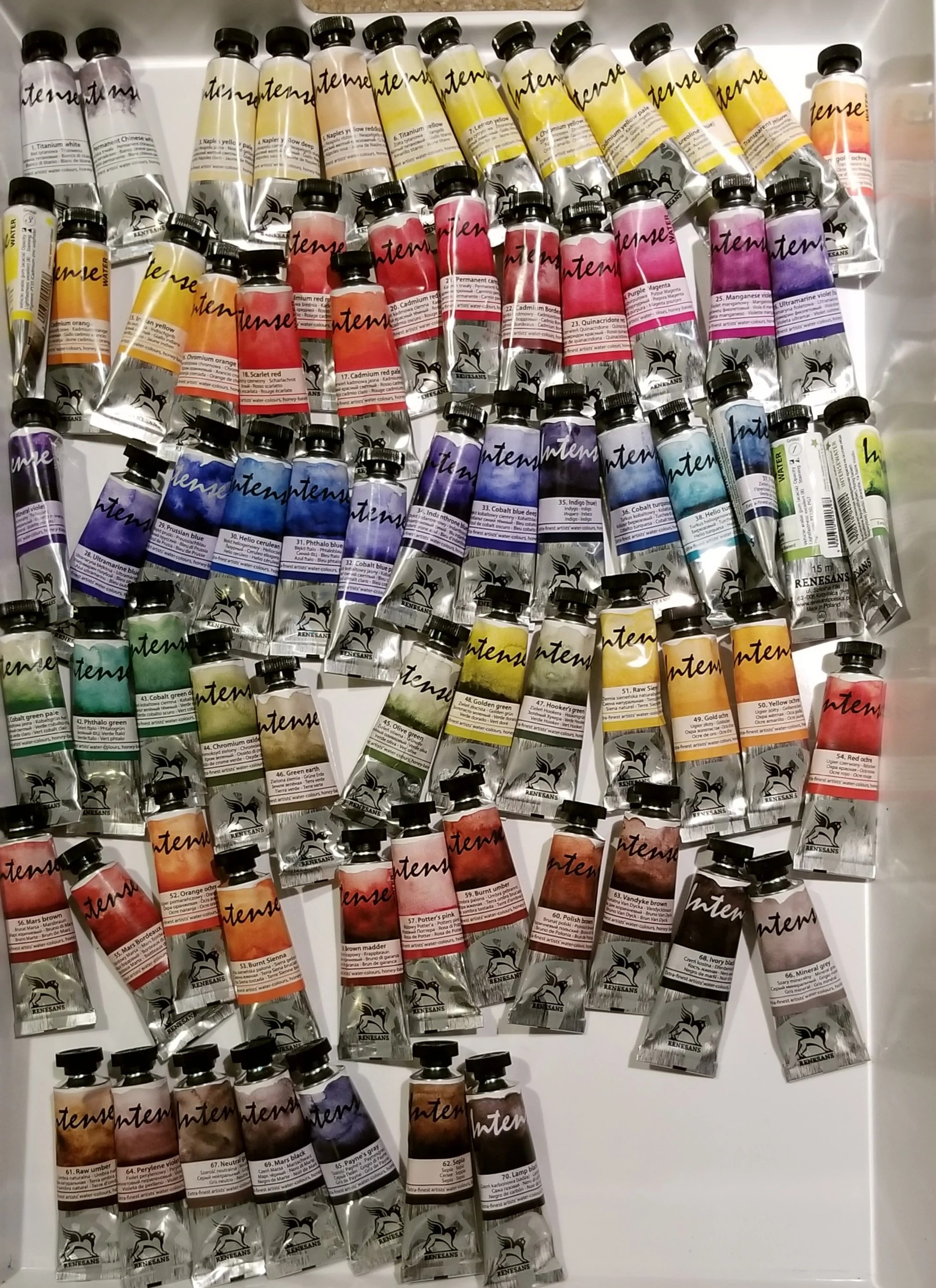 Renesans Watercolors : renesans, watercolors, Renesans, Watercolor, Tubes-Free, Shipping