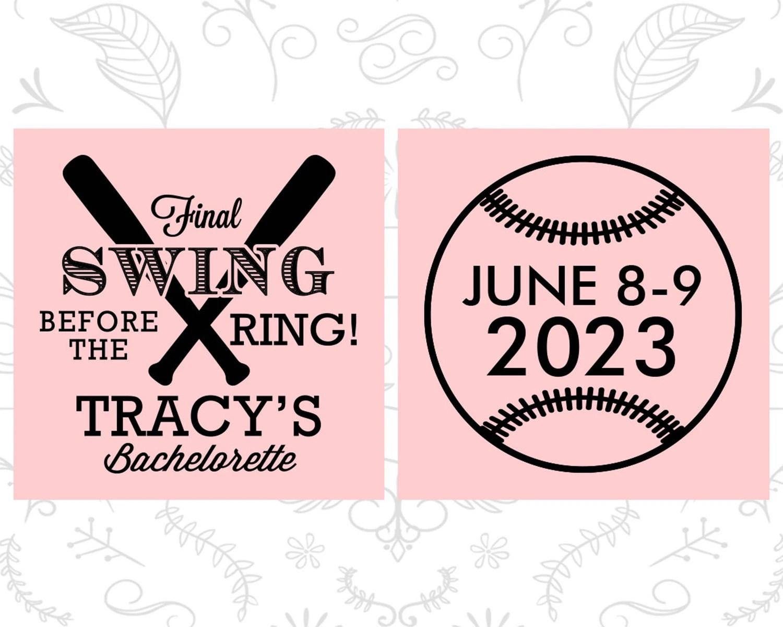 Baseball Bachelorette Party Gifts Printed Bachelorette Ideas image 3