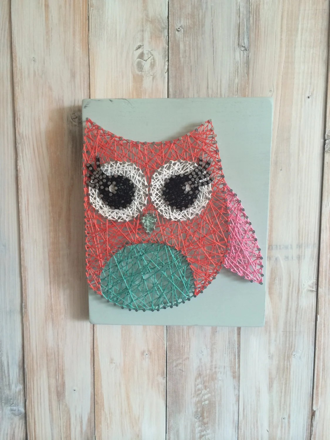 Cute Owl Decor Owl String Art Owl Decor String Art Girl S Room Decor Nursery Decor Owl Baby Shower Owl Nursery Cute Owls Woodland Decor Baby Gift