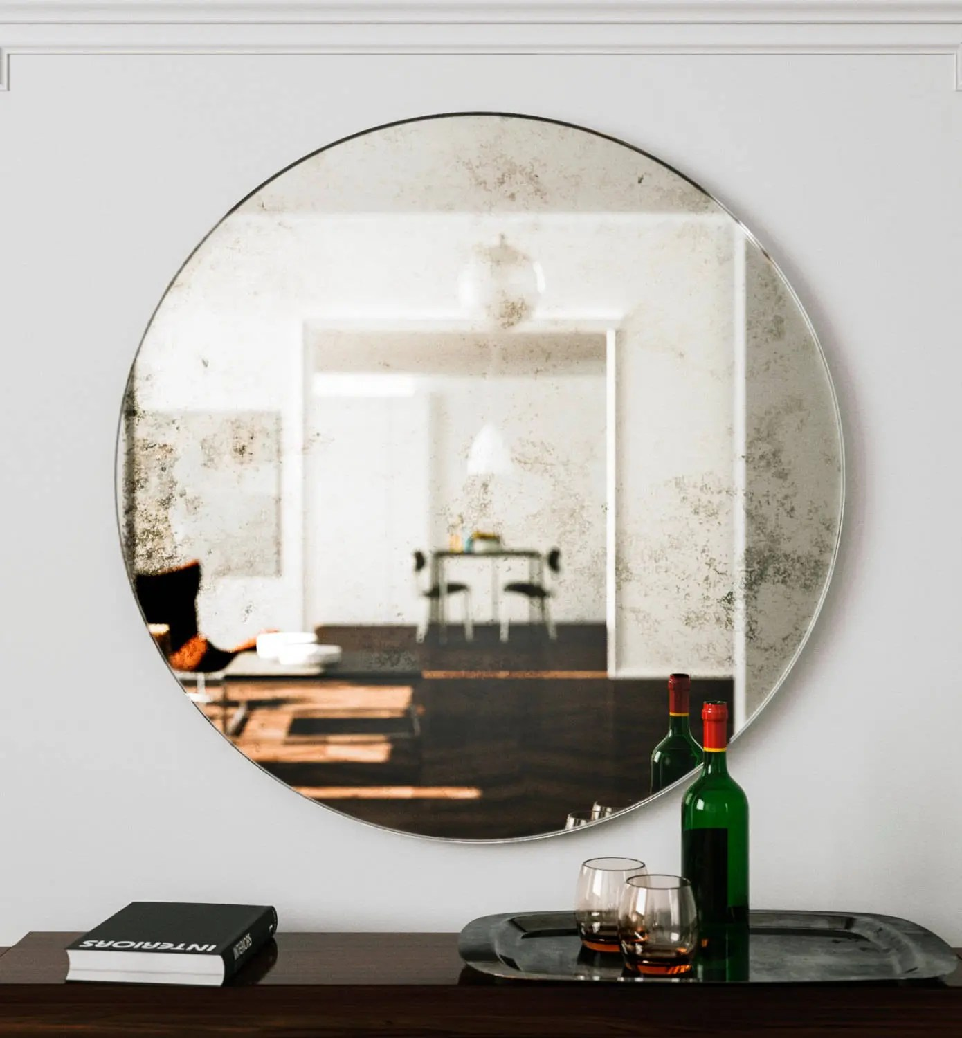 large wall mirror unique