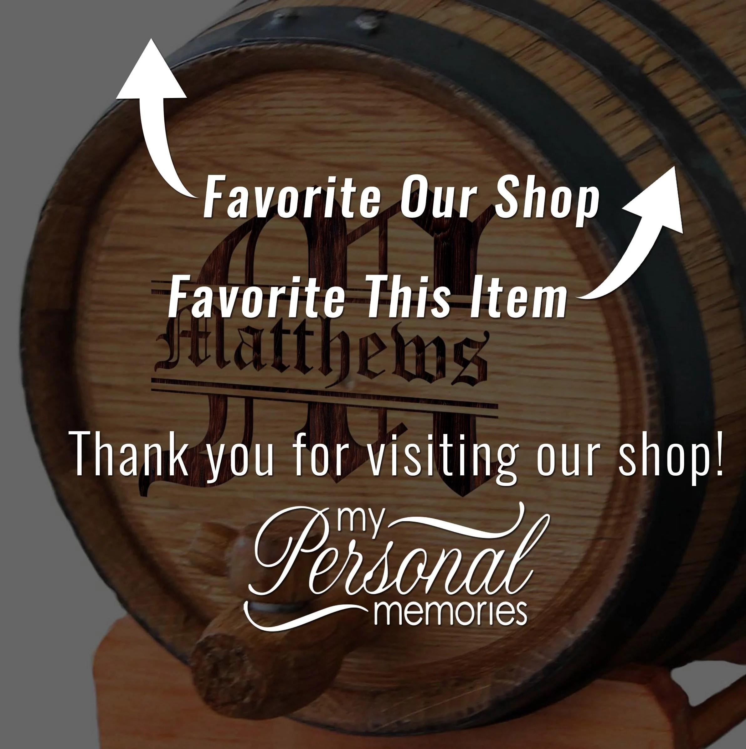 Personalized Mini-Oak Whiskey Barrel  Groomsmen Gift  image 8