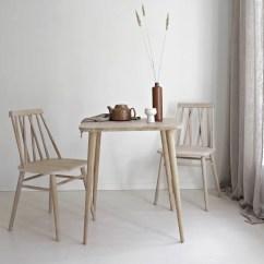 Small Table For Kitchen Mini Pendant Lights Island Etsy Solid Oak Modern Breakfast Two Scandinavian Style End Mo 01