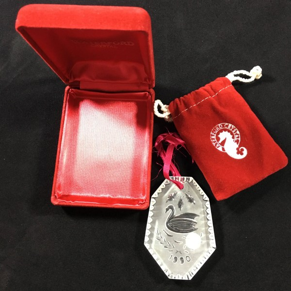 Waterford Crystal 12 Days Of Christmas Tree Ornament 7