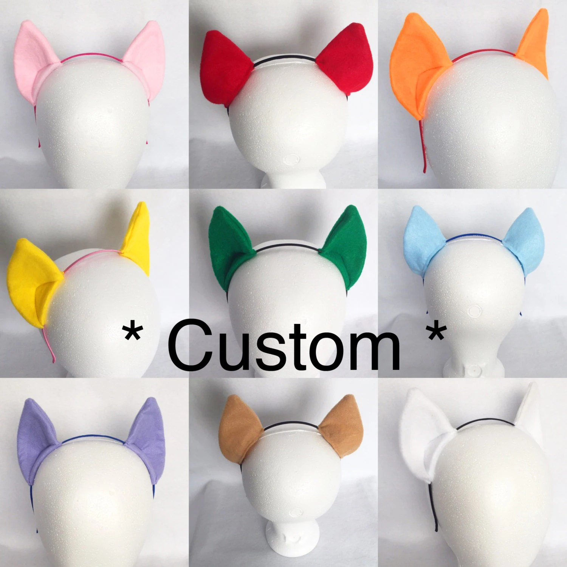 pony ears custom color