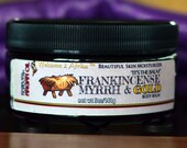 Frankincense Myrrh & Gold Body Balm with Argan Oil