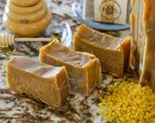 1 bar Honey Bee Mine: natural, handmade soap with honey, bees wax, & milk