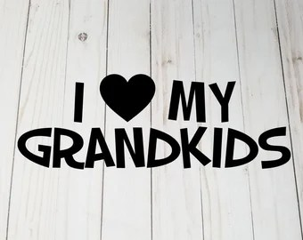 Download Grandkids wall decal | Etsy