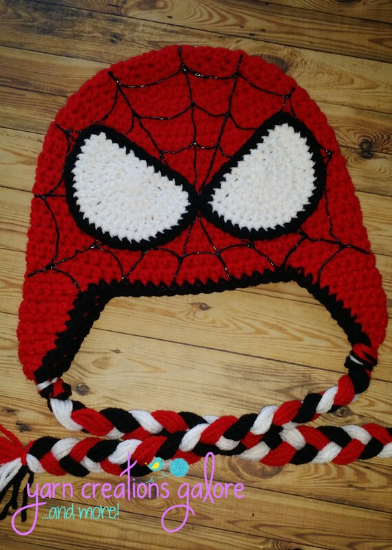 Crochet Spiderman Hats : crochet, spiderman, Crochet, Spiderman