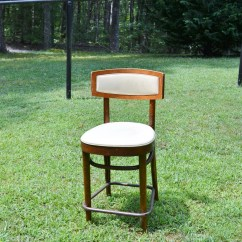 Retro Cafe Dining Chairs Chair Covers For Sale Vintage Bentwood Brown Painted Desk Etsy Bistro Upholstered Foot Rail Kitchen Seating Panchosporch