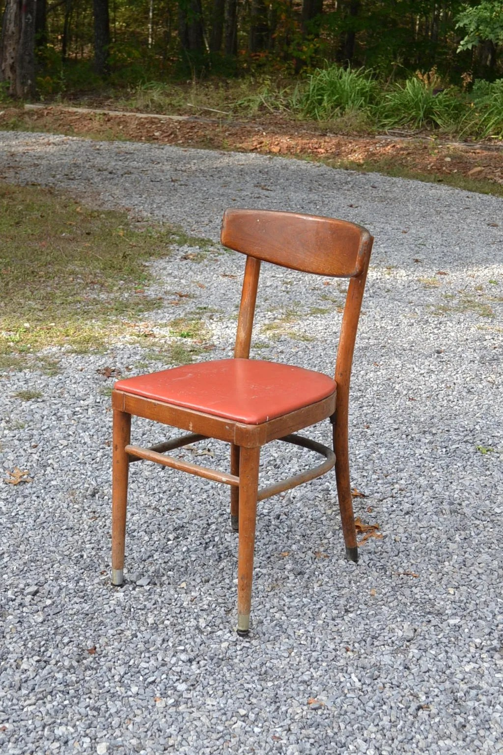 vintage bentwood chairs dark wood dining thonet chair upholstered seat desk etsy image 0