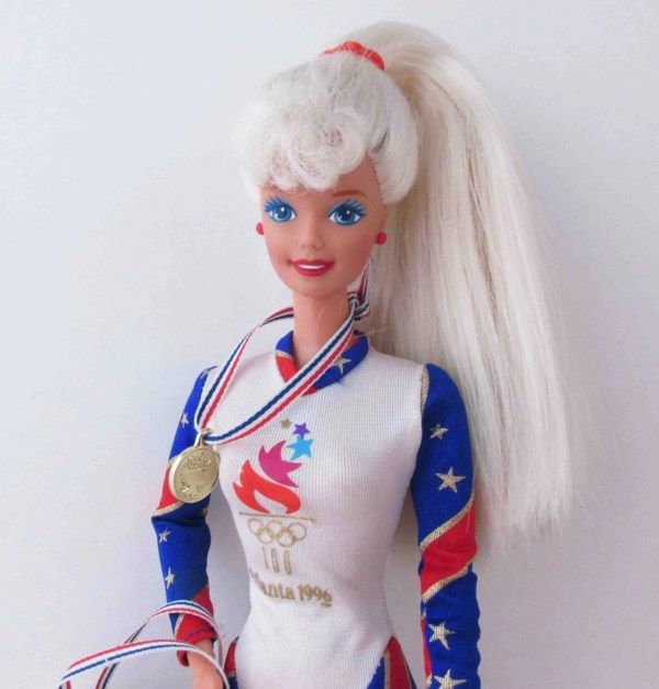 Olympic Gymnast Barbie 1996 Atlanta Dolls 1990s