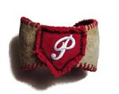 Repurposed Baseball Cuff ...