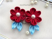 handmade kanzashi girls ladies
