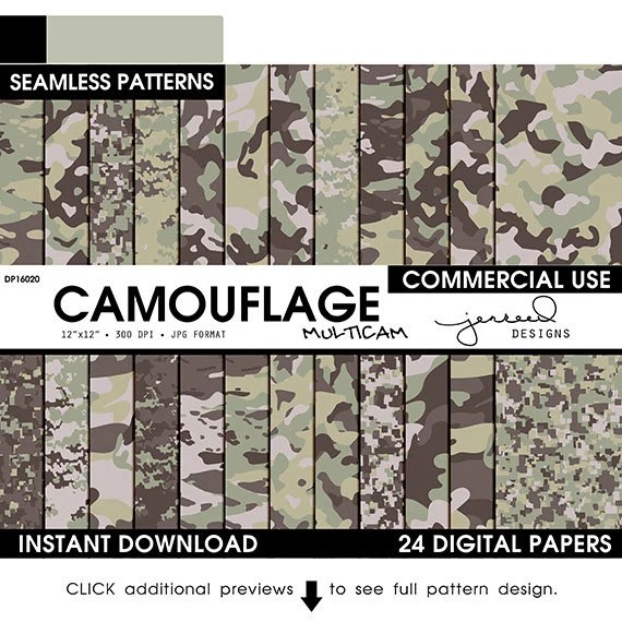 army multicam camouflage military