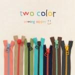 2 Color Mix Zipper