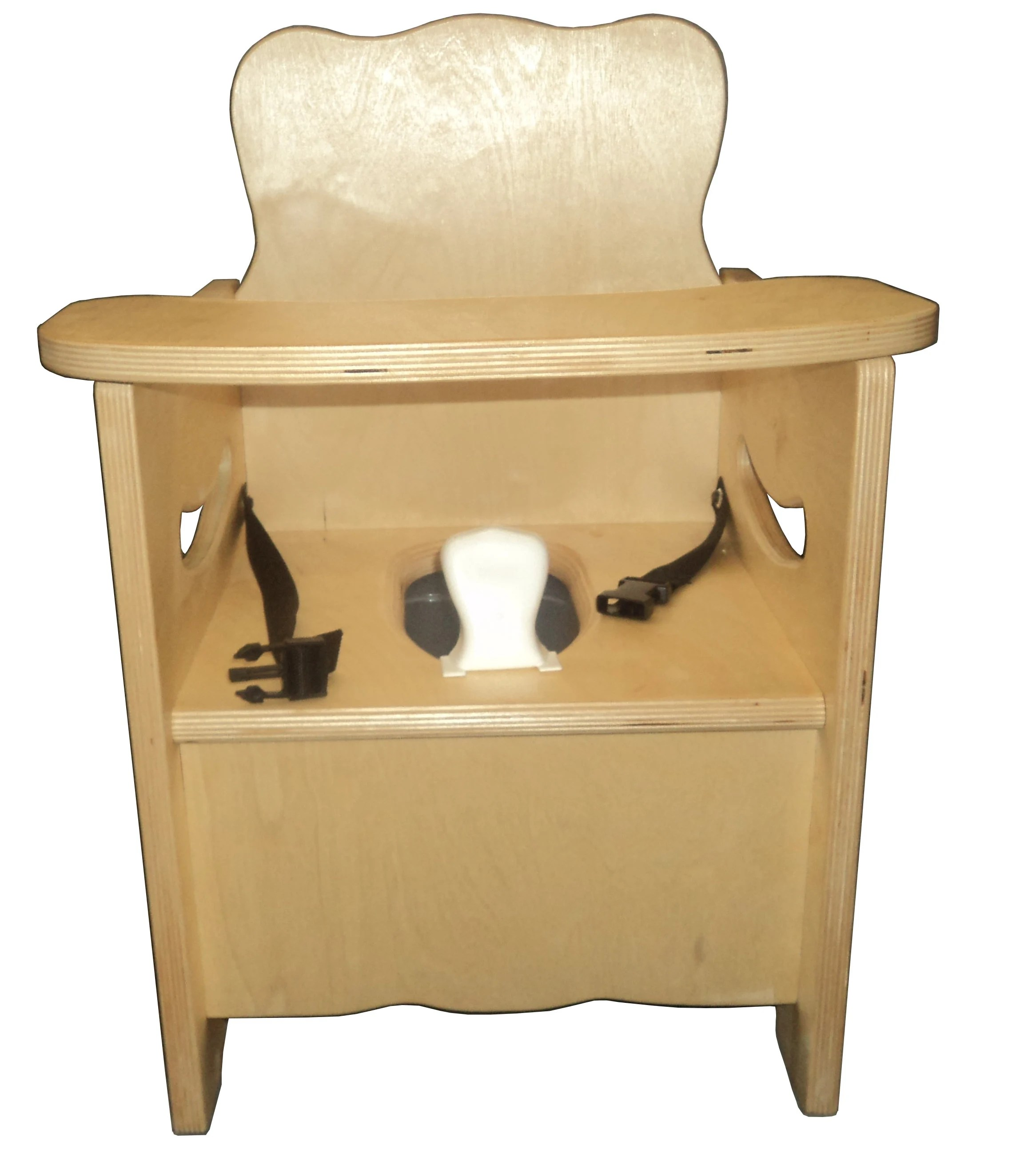 wooden potty chair and a half recliners leather new w latching tray pot pee etsy image 0