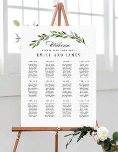 Image also sizes wedding seating chart template editable table etsy rh