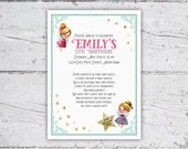 Magical Fairy Birthday Party Invitation | Fairy Garden Party | Girl's Party Ideas | Printable Digital Download | Girl's Birthday Invitation
