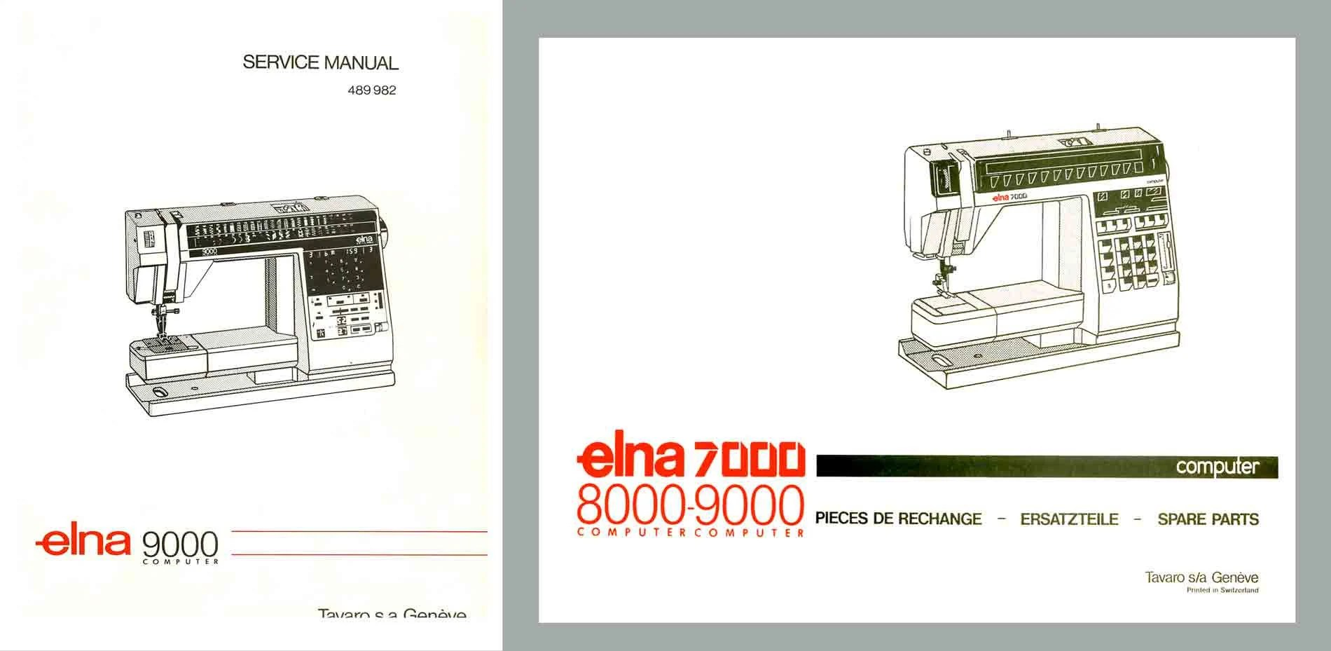 elna sewing machine parts diagram cat6a plug wiring 9000 diva service manual and schematics book etsy 50