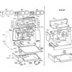 Elna Sewing Machine Parts Diagram 2003 Nissan Frontier Wiring Vintage Lotus And Elnita Service Repair Manual Etsy 50