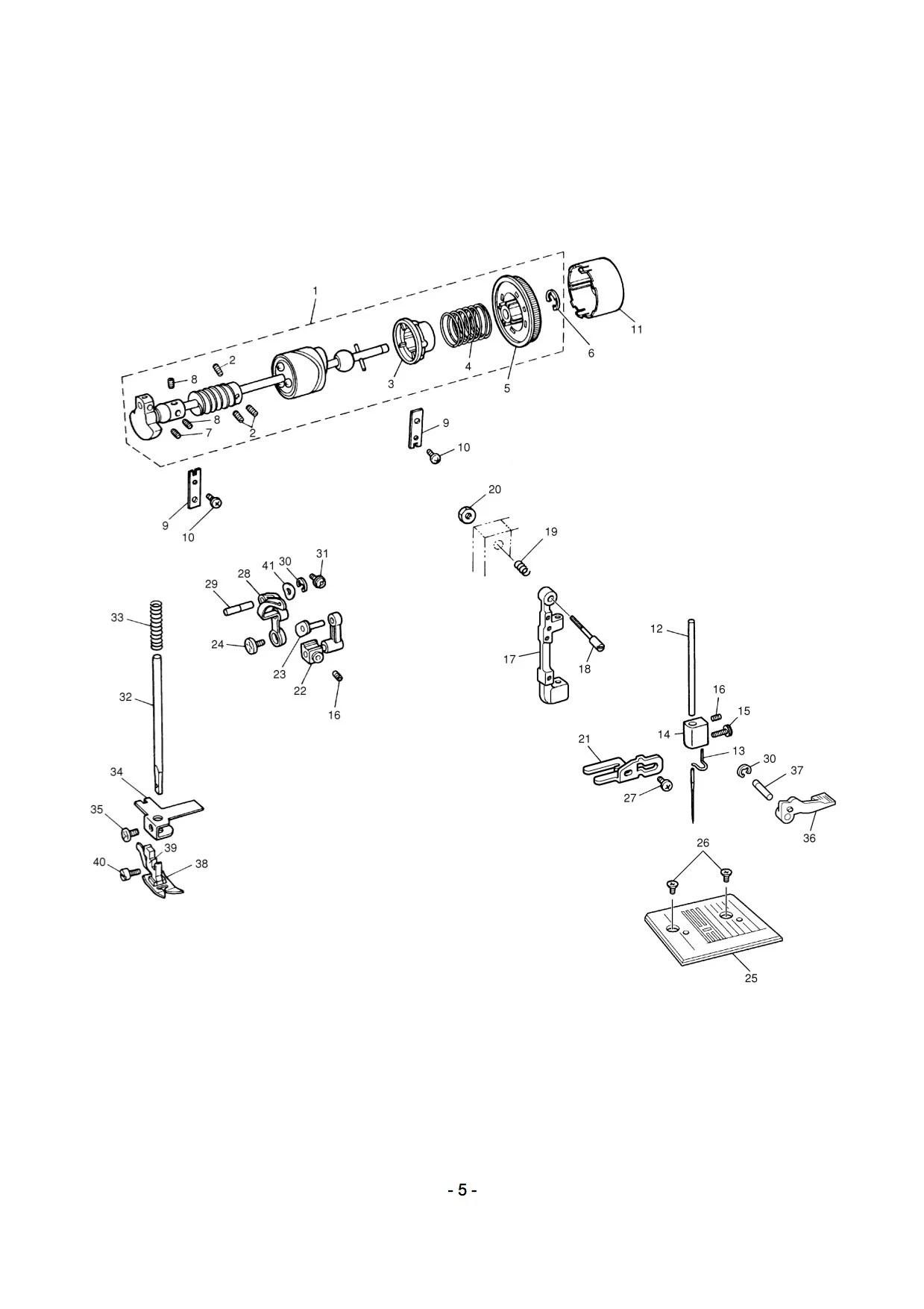 Brother Ls-2129 LS-2920 LS-2825 Service / Repair manual