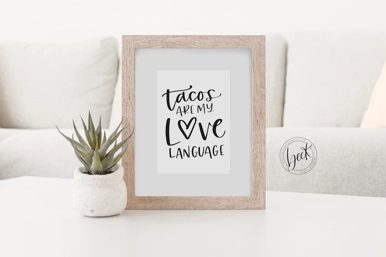 Download Tacos are my Love Language SVG File Coffee Silhouette Cut ...