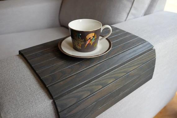 sofa tray table grey
