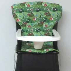 Eddie Bauer Multi Stage High Chair Burlap Sashes Covers Etsy Newport Farm Life Replacement Pad For Wooden