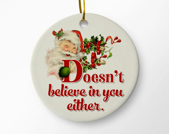 Christmas Ornaments Santa