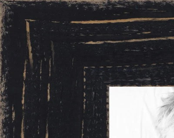 Black Rustic Wood