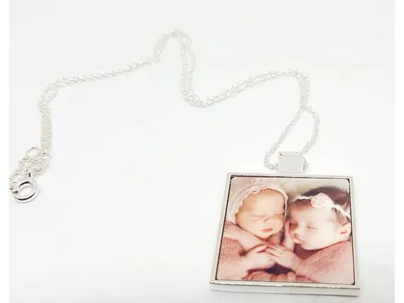 Personalised Photo Necklace