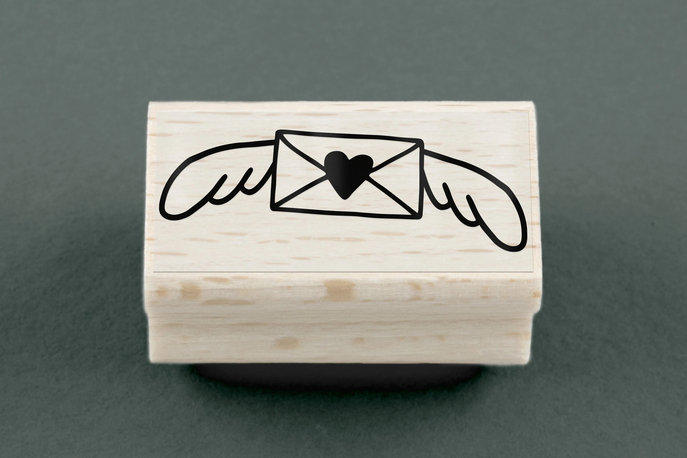 airmail rubber stamp etsy