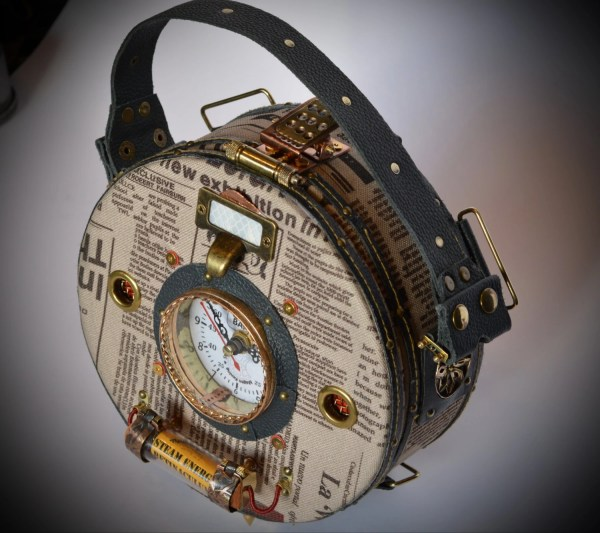 Art Projects Steampunk Bag Backpack Tablet