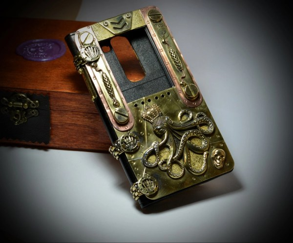 Art Project Steampunk Case Sream Sea